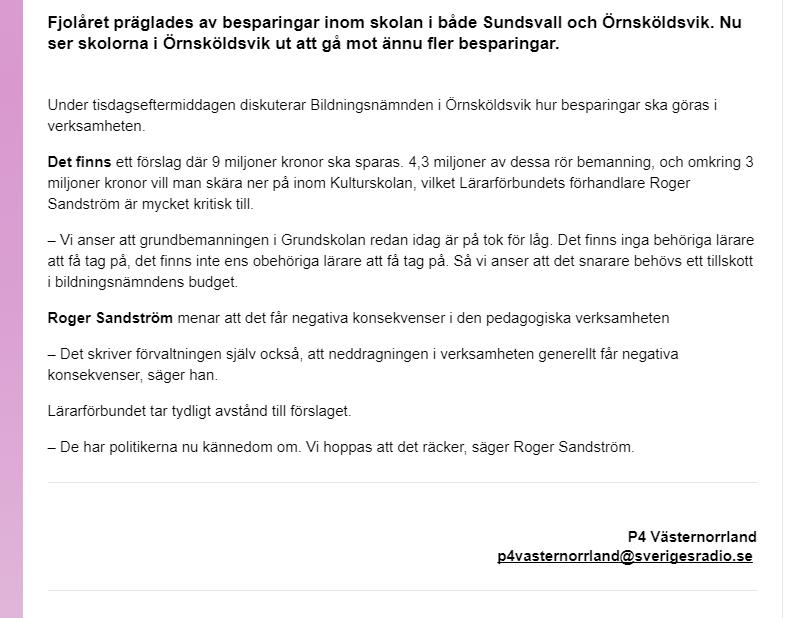 P4 Sandström