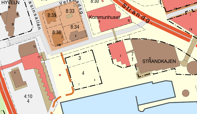 karta strandkajen